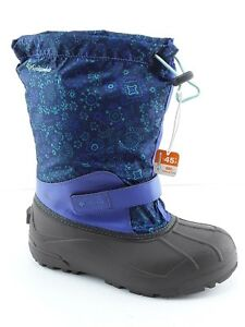c97a52a42 COLUMBIA YOUTH POWDERBUG FORTY PRINT GIRL S WINTER BOOTS PURPLE ...