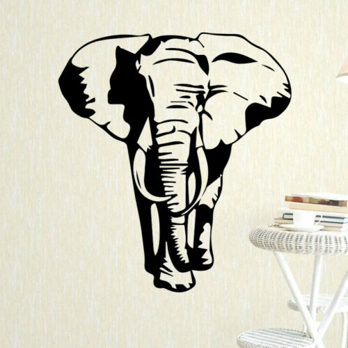 Elephant Pattern Wall Sticker for Boys Bedroom Decoration Art Design Removeable