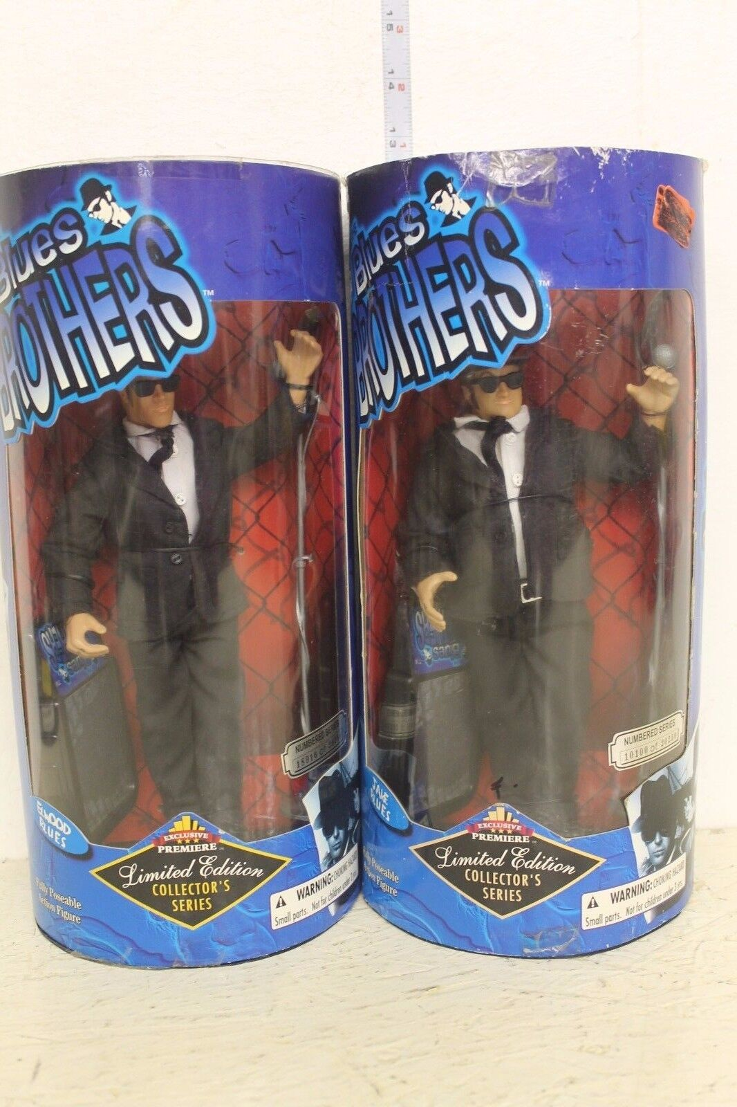 bluees Bredhers Jake and Elwood bluees 9in half moon Figures