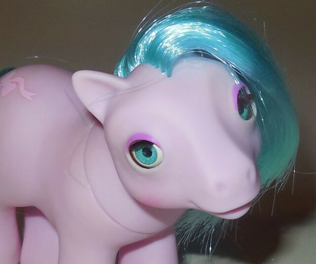 HASBRO VINTAGE 1987 OLD G1 MY LITTLE PONY BABY BeDDy ByE HaLf NoTE