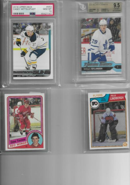 500+MASSIVE Hockey Card Lot Auto,GU,Jersey,Relic,Patch,Stick,RC,NYLANDER RC 9.5