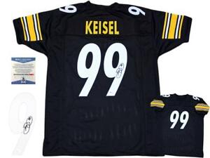 Details about Brett Keisel Autographed SIGNED Jersey - Beckett Authentic
