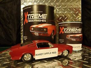 Auto paint urethane kandy apple red single stage or base for Does ebay motors ship cars