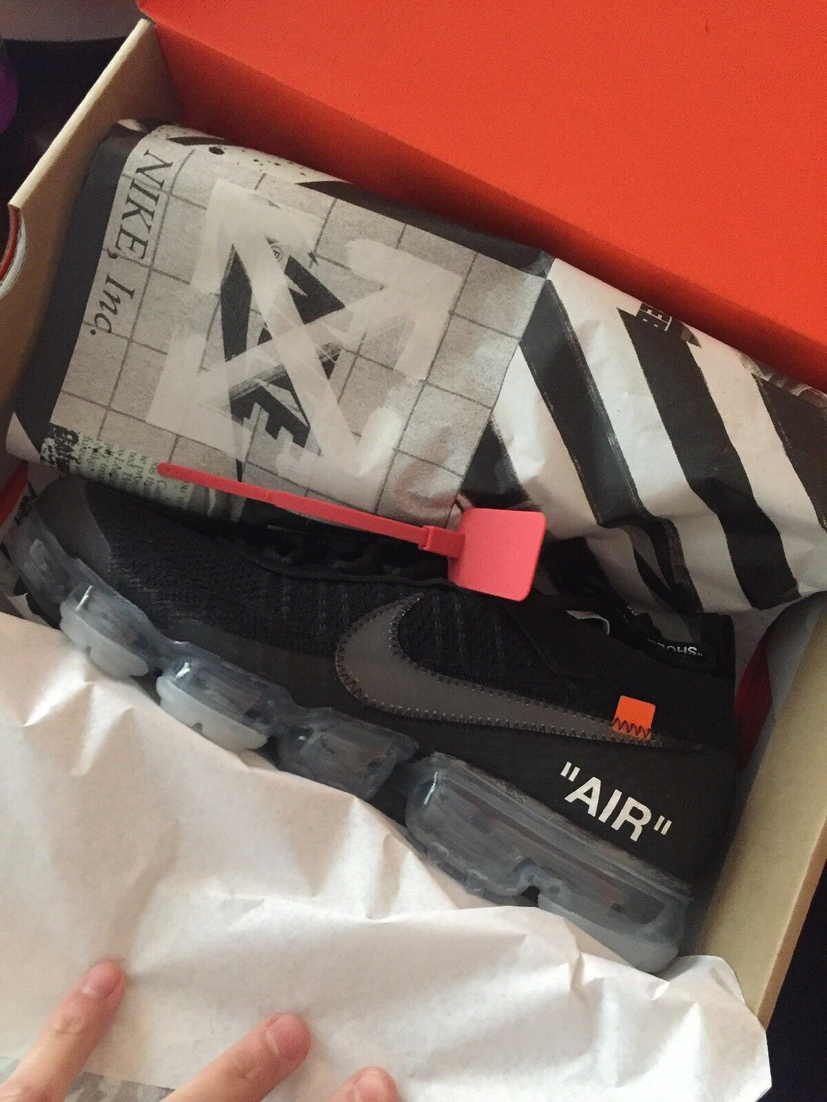 off white vapormax 10.5  Cheap and fashionable