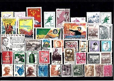 Lot Briefmarken Stamps Asien Asia O (999) Kaufen Sie Immer Gut