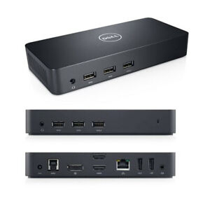 Dell D3100 (NPRRYW) USB 3.0 Universal Docking Station (Ultra HD/4K/Full HD)