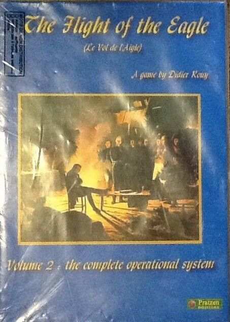 PRATZEN EDITIONS - - - BOARD WARGAME - THE FLIGHT OF THE EAGLE VOLUME 2- NAPOLEONIC 147542