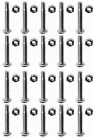 (20) Shear Pins & Bolts For Homelite Jacobsen 342449 400120 Snow Throwers Blower