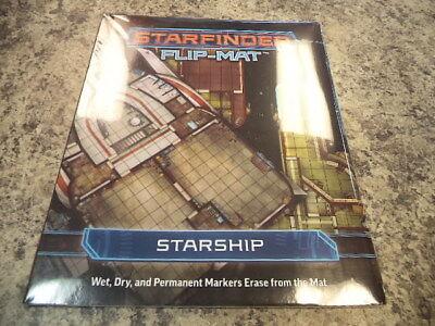 Starship Ghost Ship PZO7309 Paizo Publishing Starfinder RPG Flip-Mat
