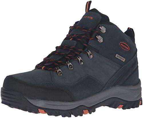 Select SZ//Color. Skechers USA Mens Relment Pelmo Chukka Boot