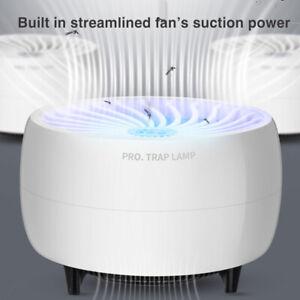 Electric-disque-Moustique-Tueur-insectes-Fly-Bug-aspiration-Zapper-LEDlight-piege-de-securite