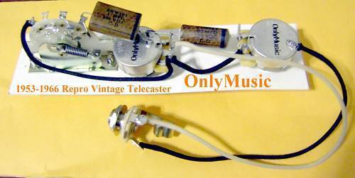 COMPATIBLE TO FENDER TELECASTER 1953 1966 REPRODUCTION VINTAGE WIRING HARNESS