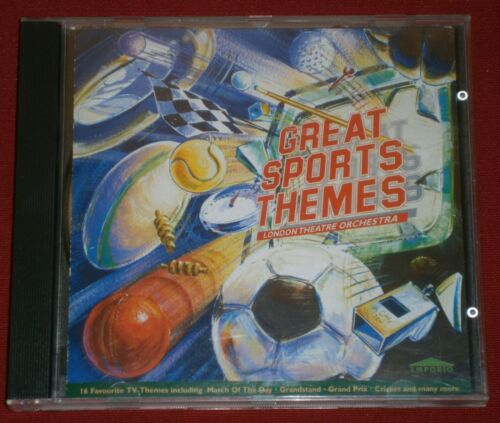 1 of 1 - London Theatre Orchestra - Great Sports Themes CD ALBUM 1997