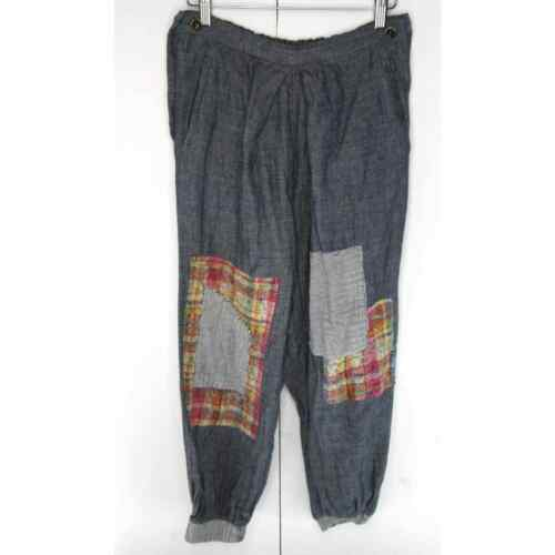 Eatable of Many Orders Patchwork Plaid Pants Trous