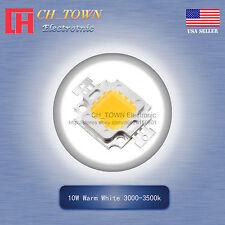 1pcs 10w High Power Warm White 3000 3500k Smd Led Chip Cob Lamp Lights Board