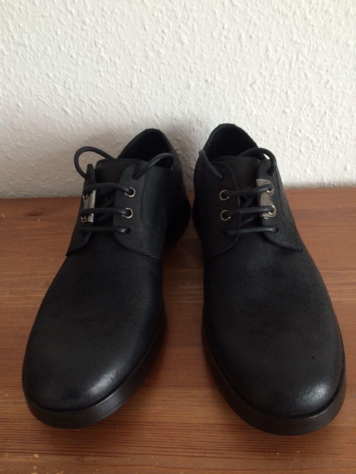 Dolce Gabbana Schwarz Herren Schuhe Größe 41,5 Schwarz Gabbana Neu 034d54