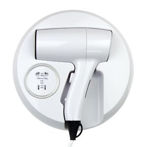 WALL-MOUNTED-HAIR-DRYER-WITH-SHAVER-SOCKET-1200W-HOTEL-DRAW-TOILET-BATHROOM