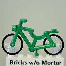 New Genuine LEGO Green Bicycle Bike Town 8404 9348