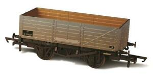 Oxford-Rail-76MW6002W-OO-Gauge-BR-6-Plank-Wagon-Weathered