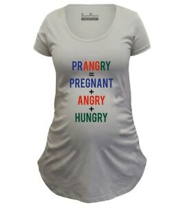 1ebcf2d48a4b5 Image is loading Pregnancy-Shirts-Maternity-T-shirts-Tunic-Clothes-Prangry-