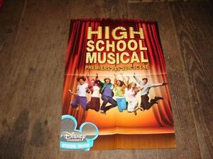 ZAC-EFRON-HIGH-SCHOOL-MUSICAL-RARE-FRENCH-PRESS-KIT-POSTER