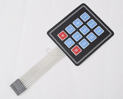 4 x3 Matrix Array Membrane Switch Keypad Keyboard 12 Key
