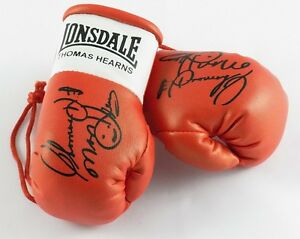 Autographed Mini Boxing Gloves Thomas The Hitman Hearns Ebay