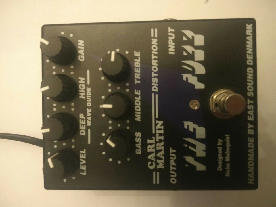 Fuzz Pedal, Carl Martin The Fuzz