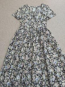 Vintage-Laura-Ashley-Tea-Dress-UK-12-EU-38-US-10