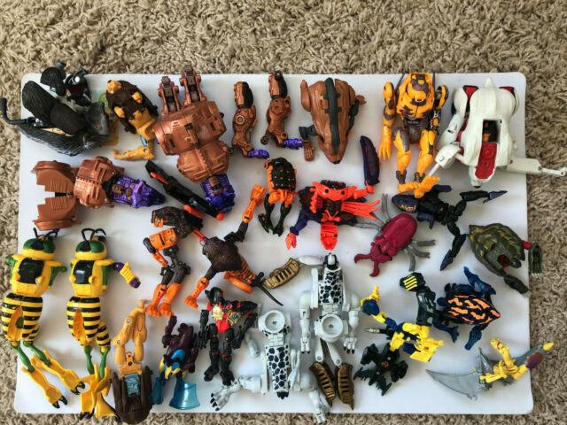 1996 Transformers Beast Wars Figures lot