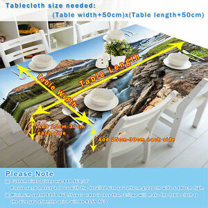 3D Cartoon 410 Tablecloth Table Cover Cloth Birthday Party Event AJ WALLPAPER US
