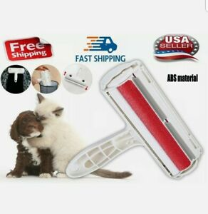 Pet Hair Cleaner Remover Sofa Clothes Lint Cleaning Brush Dog Cat Fur Roller