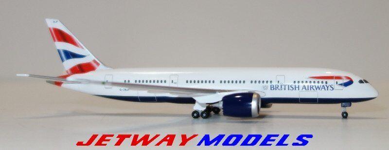 NEW  1 500 HERPA BRITISH AIRWAYS BOEING BOEING BOEING B 787-800 Model 524698-001 521e03