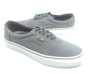 2788a13dd2 NEW Vans Mens Rowley Solos Skate Shoes Sneakers Medium Gray Brown ...