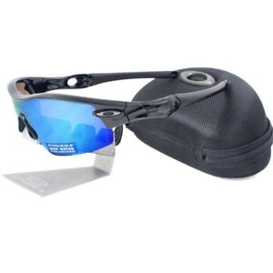 Oakley-OO-9052-02-POLARIZED-RADAR-PITCH-Black-Prizm-Deep-Water-H2O-Sunglasses