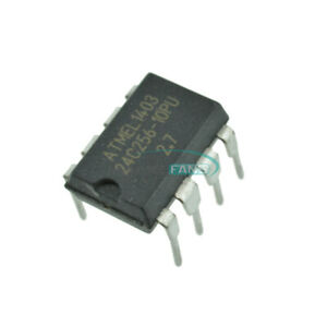50PCS ATMEL AT24C256 DIP8 24C256 DIP-8 EEPROM NEW