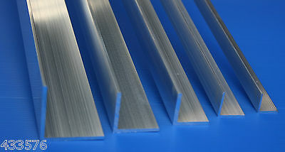 "5/8"" x 5/8"" x 1/16    Aluminium Angle     Lengths 250 mm - 600 mm"