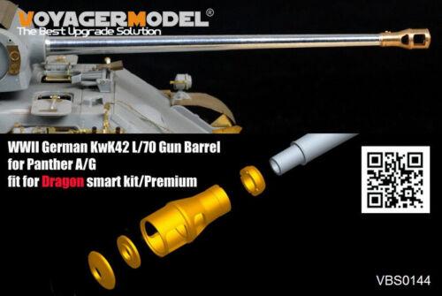 Voyager Models 1//35 WWII KwK42 L//70 Gun Barrel for Panther A//G for Dragon