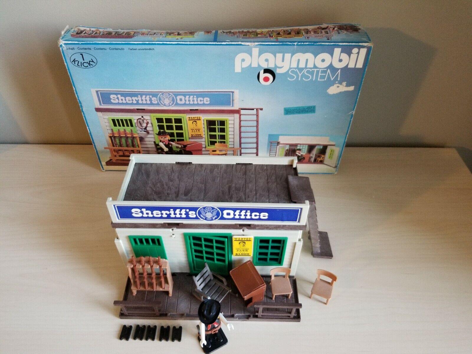 outlet online economico PLAYMOBIL  3423 VINTAGE VINTAGE VINTAGE SHERIFF  il più recente