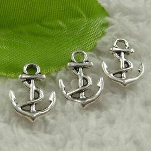 Free Ship 400pcs tibet silver flower charms 21X18mm B4566