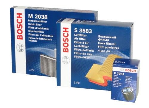 BOSCH Filtersatz für CITROEN C4 Grand Picasso,DS5; PEUGEOT 3008,5008