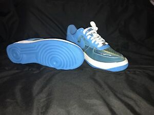 more photos f1886 8a45c Image is loading NIKE-AIR-FORCE-1-PREMIUM-CLEAR-BLUE-FANTASTIC-