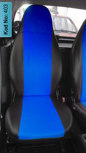 MESURE Housses de protection Sitzbezüge Skoda Citigo VW Up PASSAGER 403 Seat d/'CONDUCTEUR