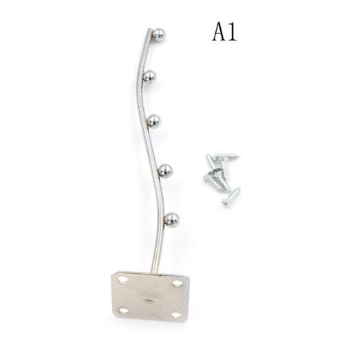 New Wall Mount Waved Waterfall Hanger Rack 7 Beads Garment Display Hook TOJKUS