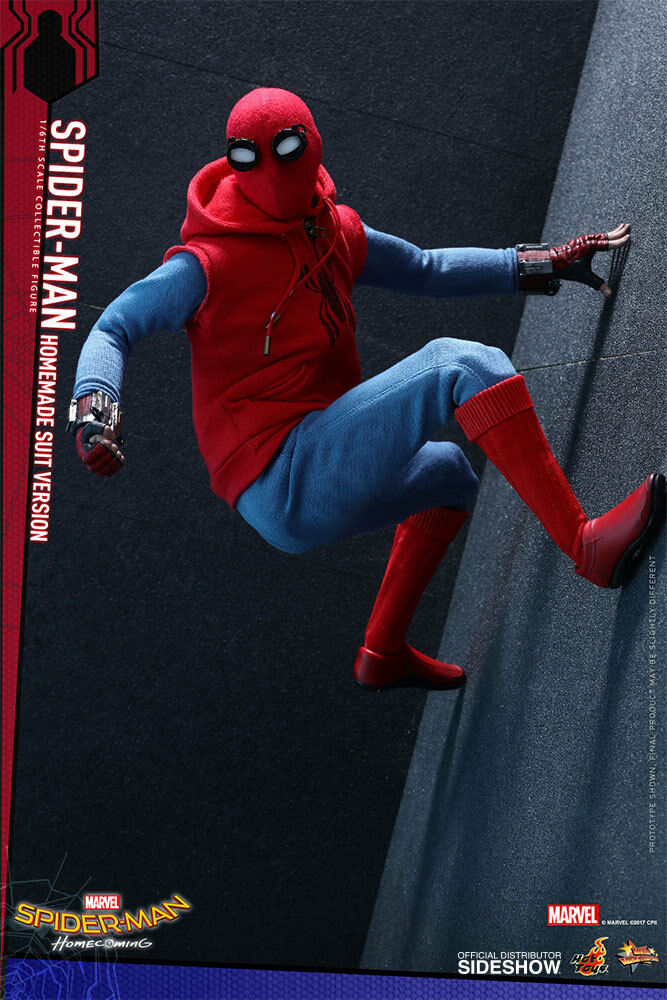 Spider-Man Homecoming Homemade Suit 1 6 Hot toys 902982 902982 902982 MMS 414 Used JC a40314