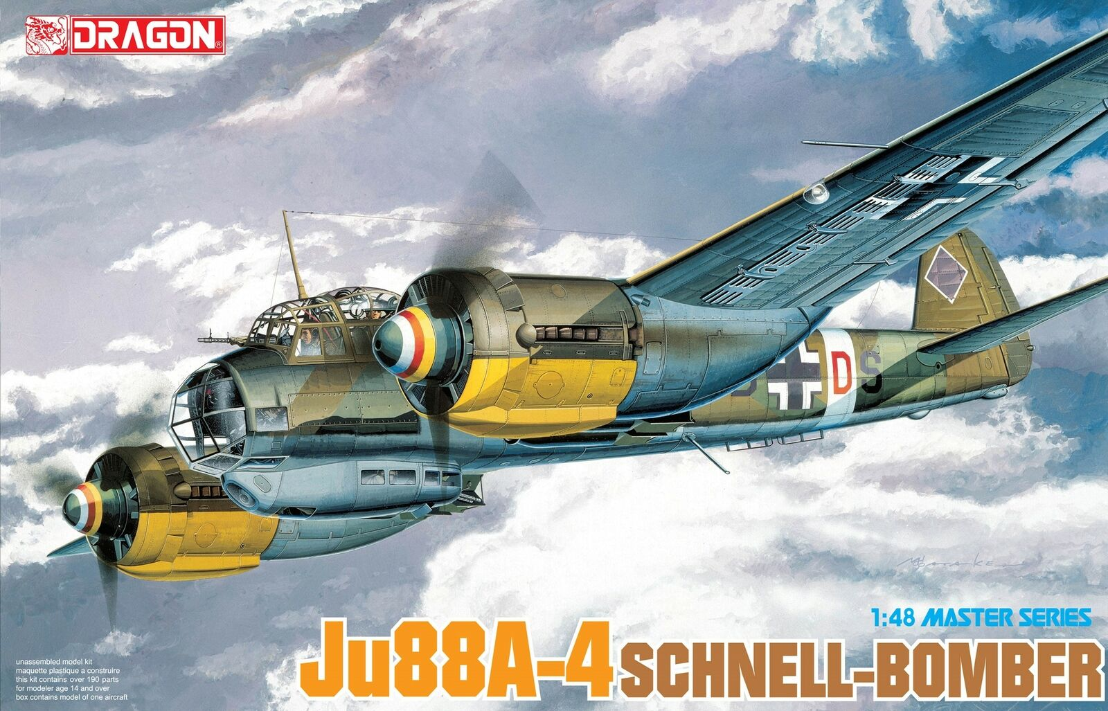 Dragon 1 48 Junkers Ju-88A-4 Schnell-Bomber