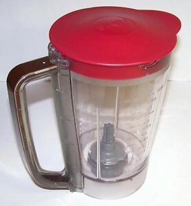 Details about NEW Ninja Kitchen System Pulse 48 oz Pitcher Jar + Lid for  BL250 BL206 BL207