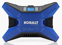 Kobalt Electric Portable Air Compressor 120 Psi 12 Volt & 120 Volt Tire Inflator