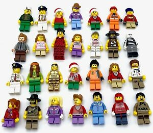 LEGO-NEW-MINIFIGURES-TOWN-CITY-SERIES-BOY-GIRL-STAR-WARS-CASTLE-YOU-PICK-MORE