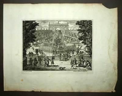 Art 100% True Höhle Und Brunnen Stil Rokoko Von Perelle Kunstblatt Gravur Originell 1675 To Win A High Admiration And Is Widely Trusted At Home And Abroad.